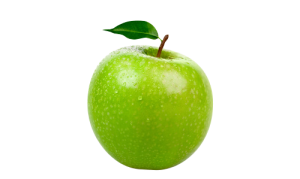 Healthy green apple