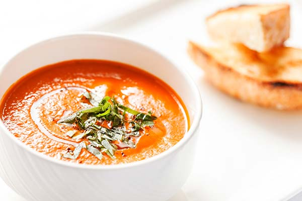 Tomato bisque soup